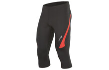 saucony Men's Inferno 3/4 Tight black/strong red
